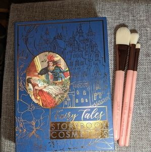 Storybook Fairy Tale palette & Luxie brush set
